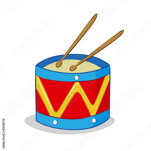 Drum cartoon
