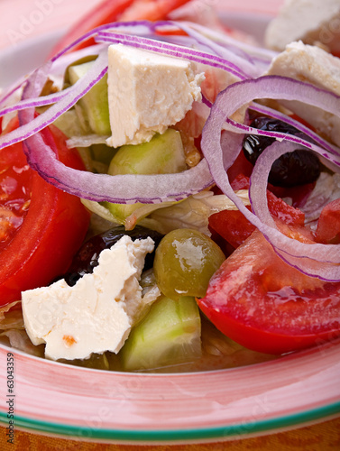 Greek vegitarian salad