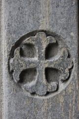 Croix d'une église de Porto
