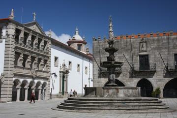 Viana do Castelo in Portugal