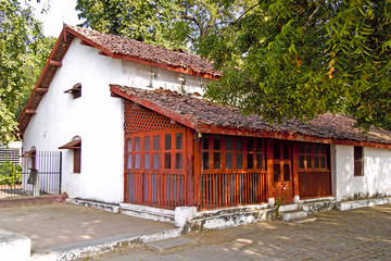 House of Mahatma Gandhis disciples in Sabarmati Ashram