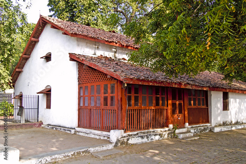 House of Mahatma Gandhis disciples in Sabarmati Ashram