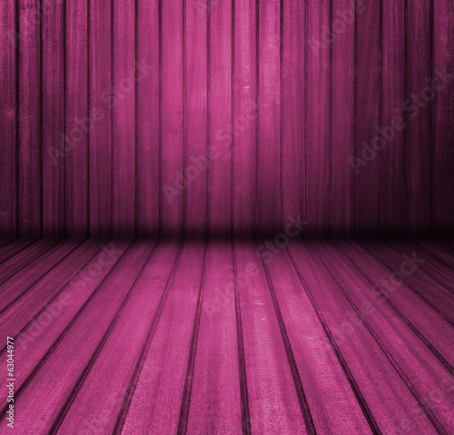 Purple painted wood background