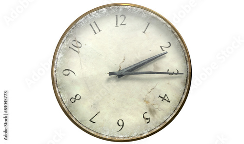 Antique Worn Pocket Watch