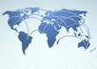 World trade logistics commercial streams