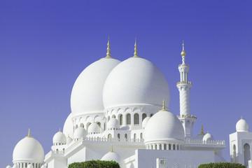 Beautiful Sheikh Zayed Mosque in Abu Dhabi city, UAE