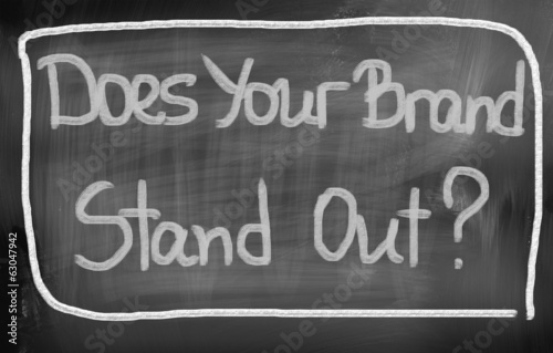 Does Your Brand Stand Out Concept