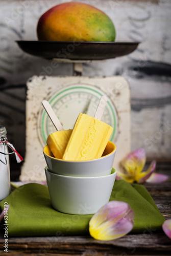 Mango eis, Mangoeis, Eis, Mango