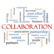 Collaboration Word Cloud Concept