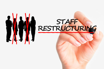 Staff restructuring concept