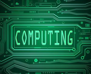 Computing concept.