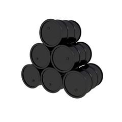 black barrels