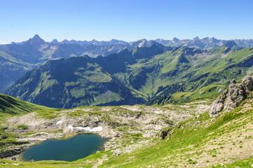Gebirgslandschaft im Oberallgäu