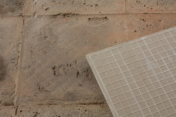 tiled and surface