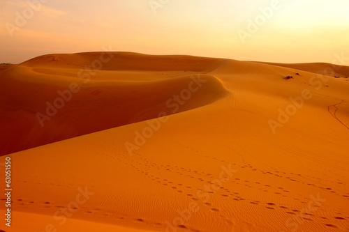 Fotobehang Woestijn Desert Landscape