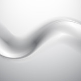 Abstract vector gray smoke background