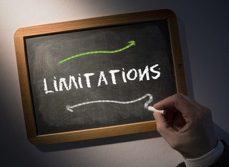 Hand writing Limitations on chalkboard