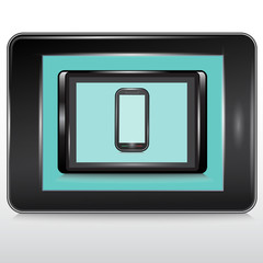 Tablets , Mobile Phone.Vector