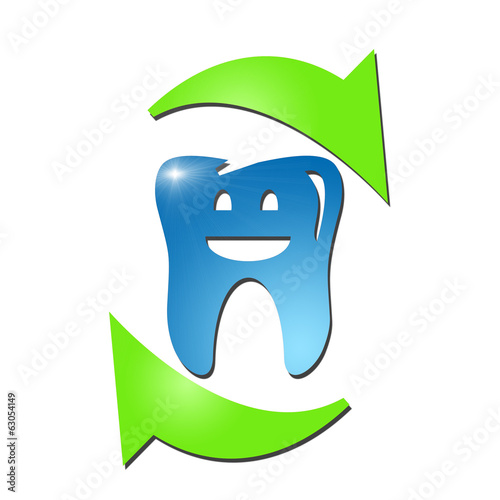 3 D Dental Logo