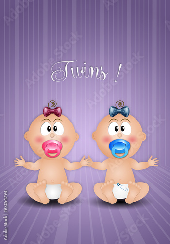 twins male and female for birth