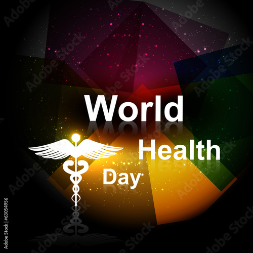 Beautiful Vector concept medical bright colorful world health da