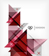 Vector Geometric Design Template For Brochure | Booklet