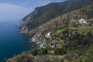 Coastline between Moneglia and Riva Trigoso