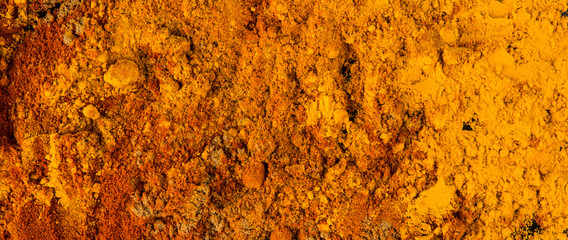Mix powdered spices background