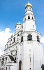 Beautiful Annunciation Cathedral in Moscow Kremlin, Russia
