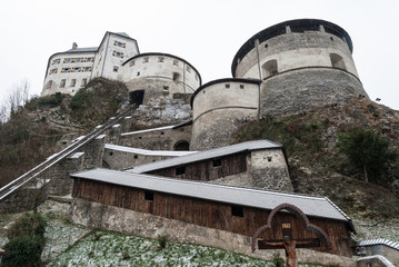 View of the Kufstein Fortress, Austria