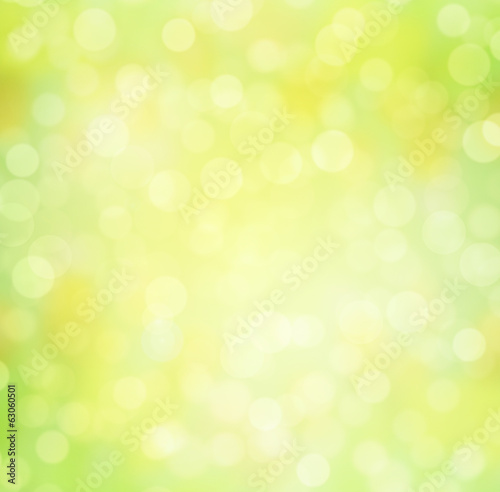 canvas print picture Bokeh Background Springtime