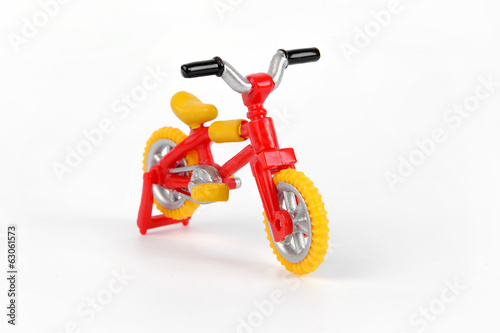 Red & Yellow Bicycle