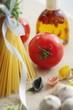 Frische Tomate in der Küche