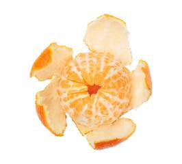 Peeled Tangerine as Star