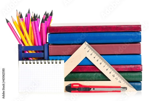 School writing-materials