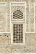 canvas print picture - Muster Einlegearbeiten auf Marmor Mausoleum Agra Indien