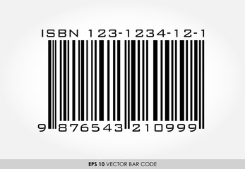 ISBN barcode for books