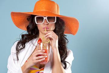 summer beach woman