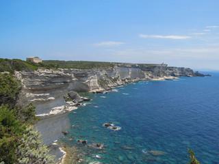 Corsica shore France