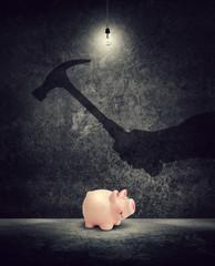 break into savings