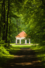 Summer house near Milotice castle, Czech republic