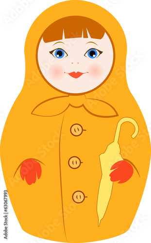 Rainy Day Matryoshka