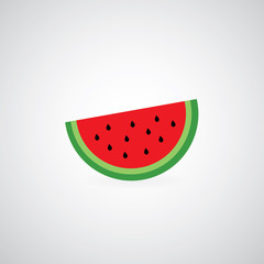 watermelon vector cartoon