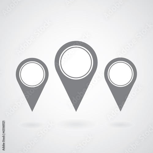 pointer icon gps mark