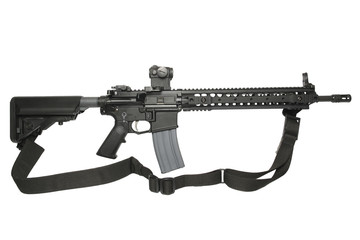 AR15 with strap