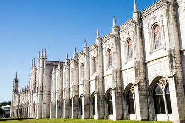 Jeronimos Monastery in Lisbon, Portugal