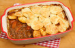 Beef Stew with Potato Topping