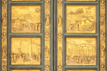 Gates of Paradise, Florence, Italy, detail