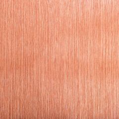 Copper brushed metal background.