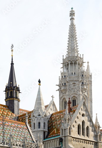 Matthias Church roof detail